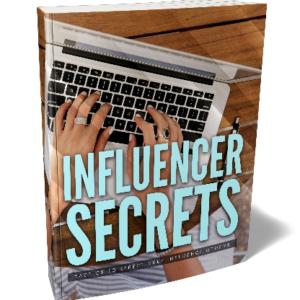 Influencer Secrets Ebook