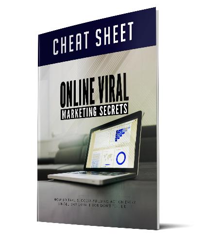 Online Viral Marketing Secrets chaet sheet